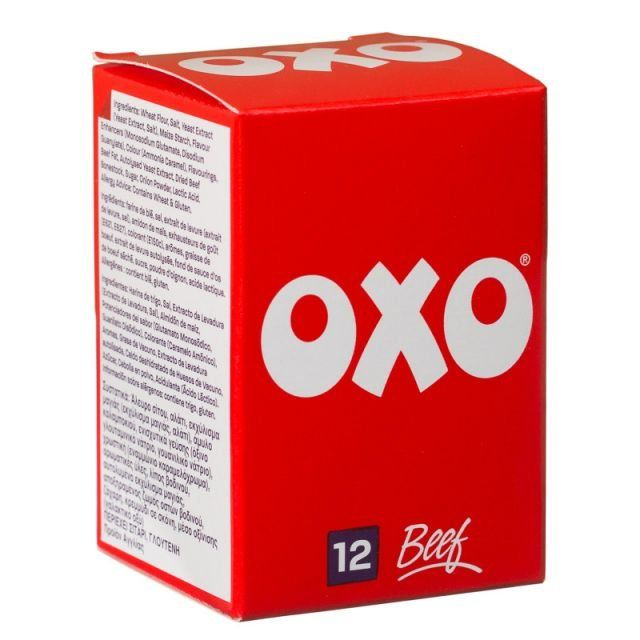 Oxo Cube Beef 12 Cubes