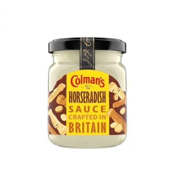 Horseradish Sauce Colmans