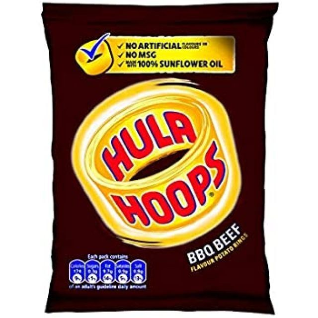 Hula Big Hoops BBQ Beef