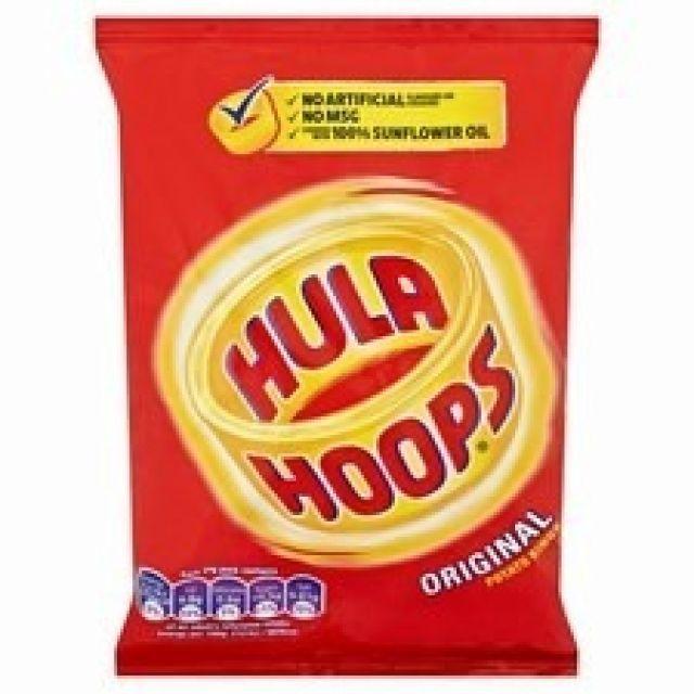 Hula Big Hoops Ready Salted 80g