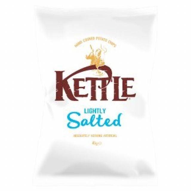 Kettle Lightly Salted Crisps 80g