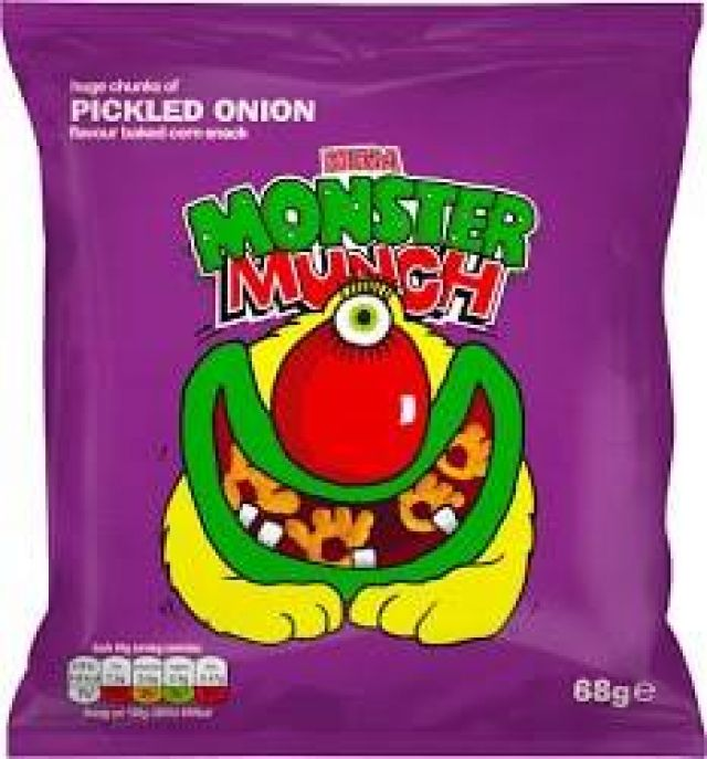 Walkers Monster Munch Pickled Onion 60g
