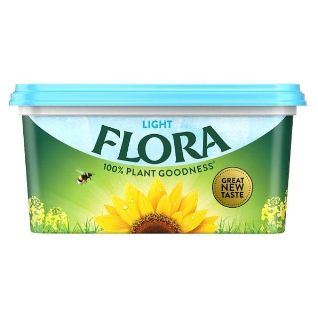 Butter Spread Flora Sunflower Light 500g