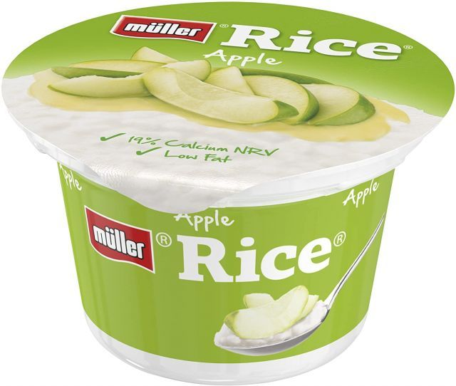 Pudding Muller Rice Apple 180g