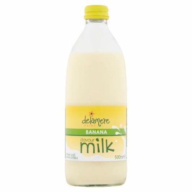 Milk Delamere Dairy Banana