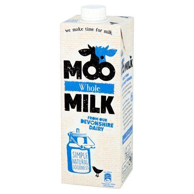 Milk Moo Whole uht 1L