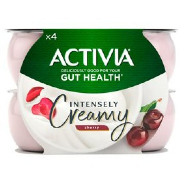 Yogurt Activia Cherry 4 Pots