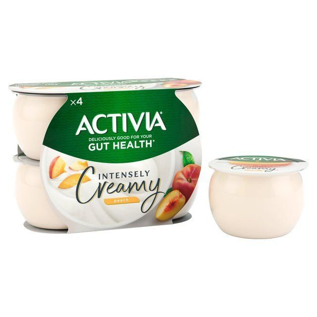 Yogurt Activia Peach 4 Pots
