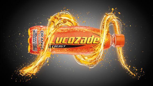 Lucozade Zero Orange Bottle
