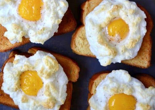 Double Egg on Toast