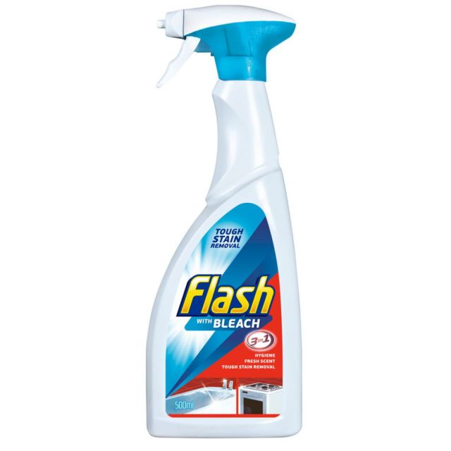 Flash Guard with Bleach Spray