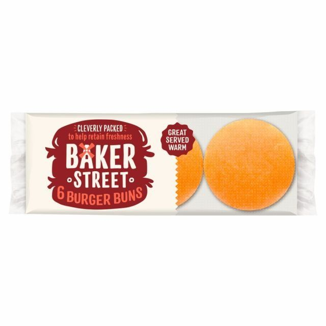 Baker St Burger Buns 6 Pack