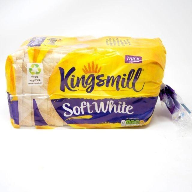 Kingsmill White Thick 800g