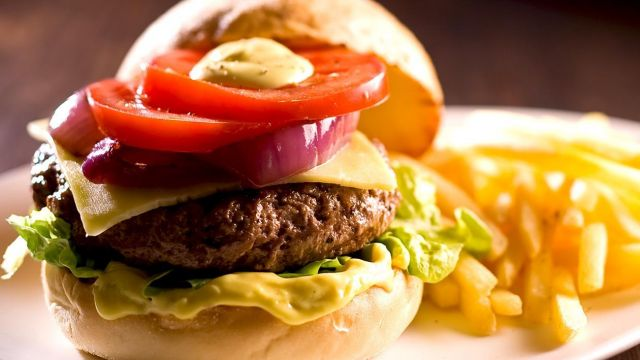 Cheese Beef Burger