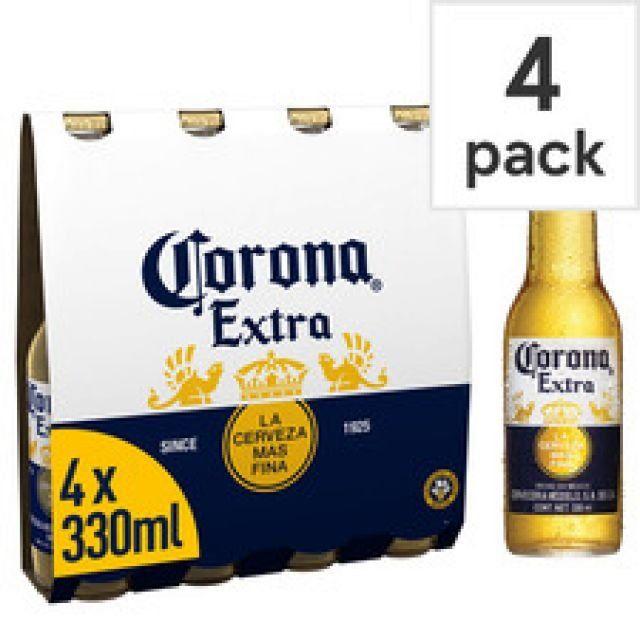 Corona Extra 330ml 4 Pack
