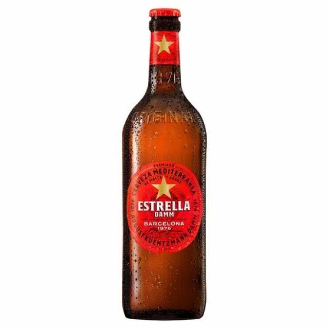 Estrella Damm 650ml Bottle