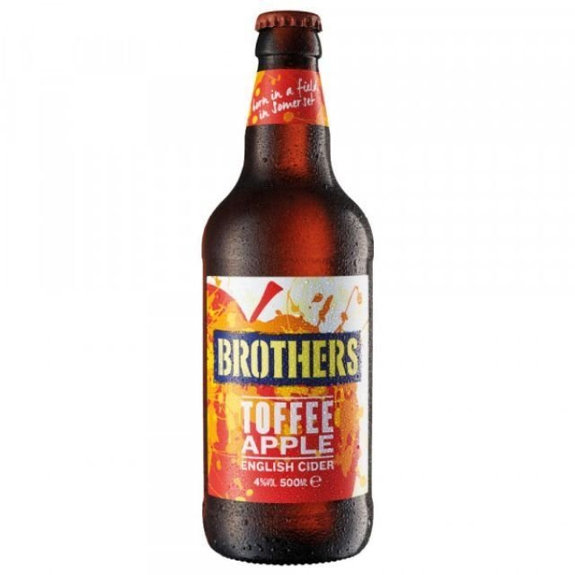 Brothers Toffee Apple 500ml Cider Bottle