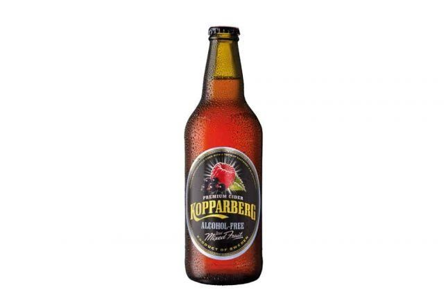 Kopparberg Alcohol Free 500ml Strawberry & Lime