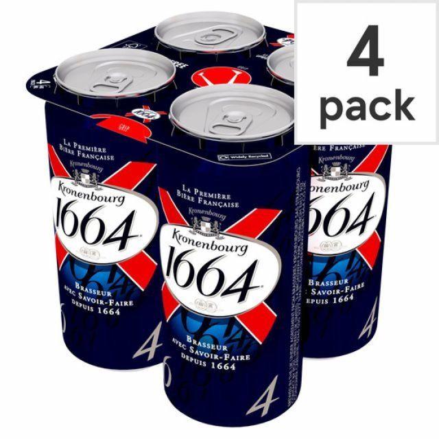 Kronenbourg 440ml 4 Cans