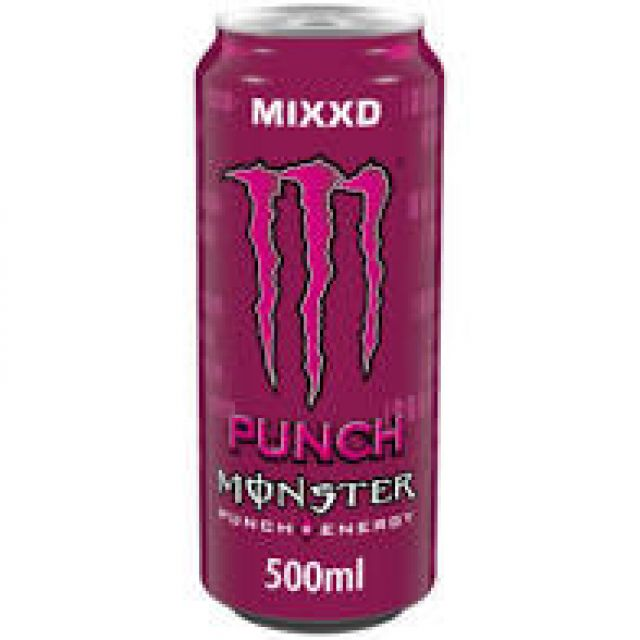 Monster Energy Punch 500ml Can