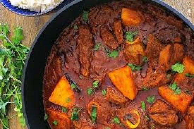 Mutton & Potato Curry
