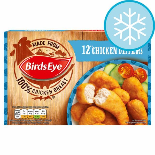 Chicken Dippers Birds Eye 12pcs