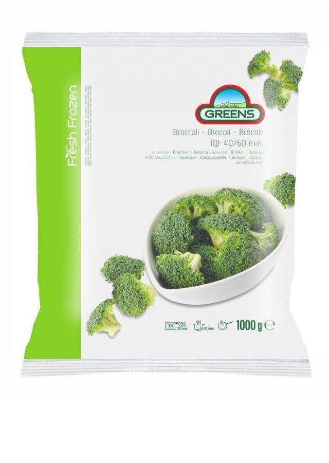 Greens Frozen Broccoli 1KG