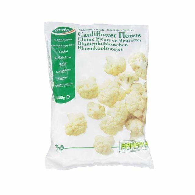 Greens Frozen Cauliflower Florets 1KG