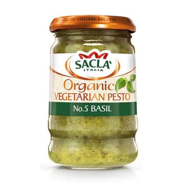 Pesto Organic Basil Vegetarian Sacla