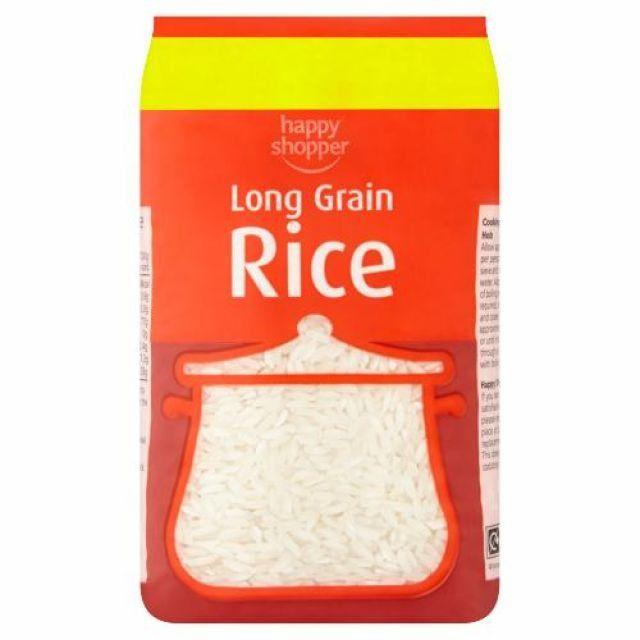 Rice Long grain 500g Happy Shopper