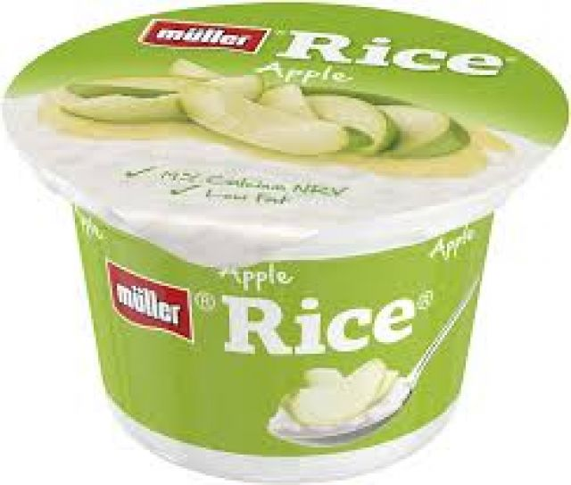 Pudding Muller Rice Apple