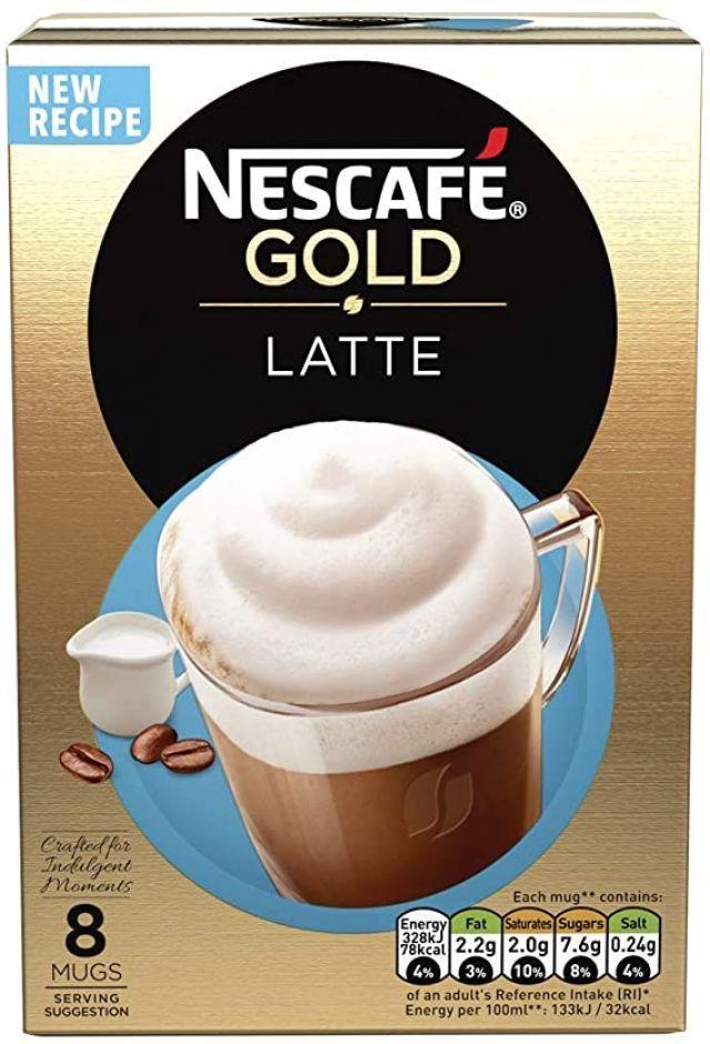 Nescafe Latte Sachets