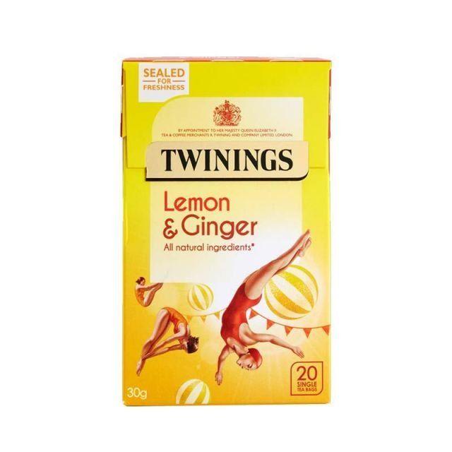 Twinings Lemon & Ginger Tea 20 Bags