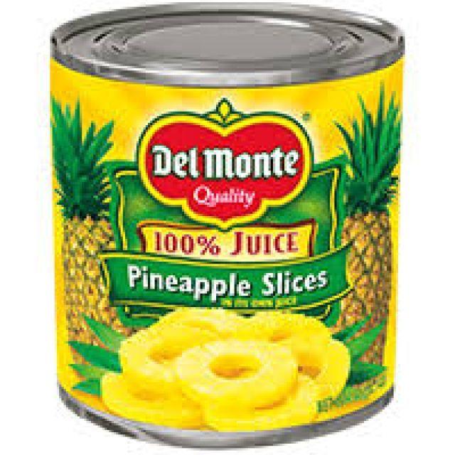 Del Monte Pineapple Chunks Tin