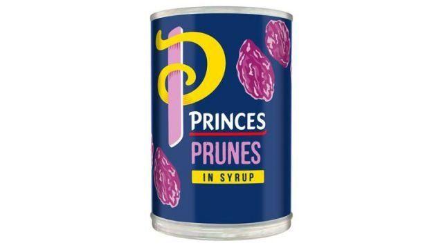 Princes Prunes Tin