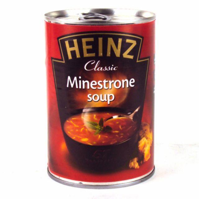 Heinz Minestrone Soup Tin