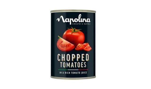 Napollina Chopped Tomatoes Tin