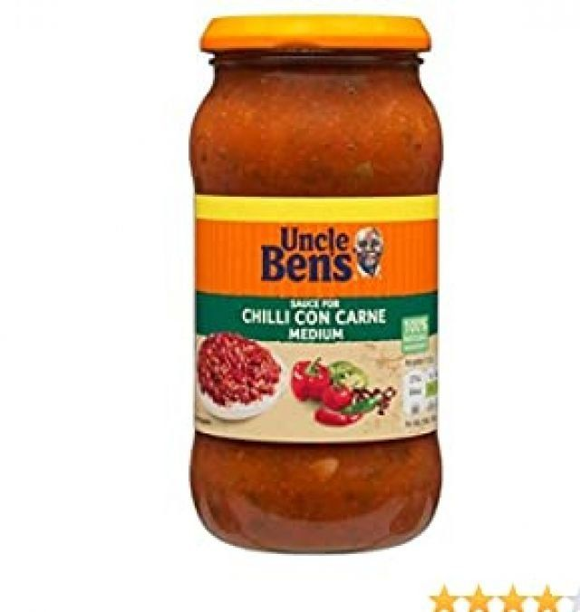 Cooking Sauce Uncle Bens Chilli Con Carne 450g