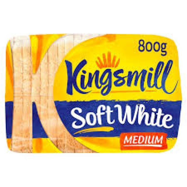 Kingsmill Medium White 800g Bread