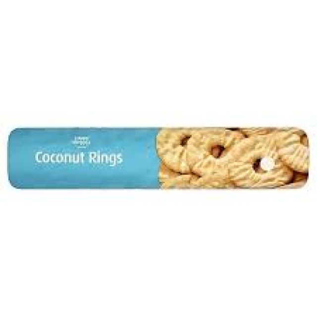Coconut Rings 300g Biscuits