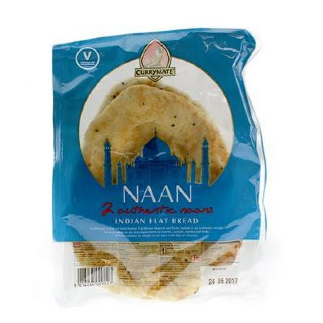 Coriander Naan Bread Currymate 2 Pack