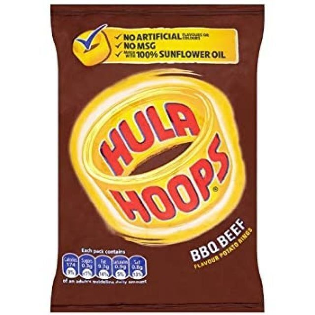 Hula Big Hoops Spicy Chilli 80g