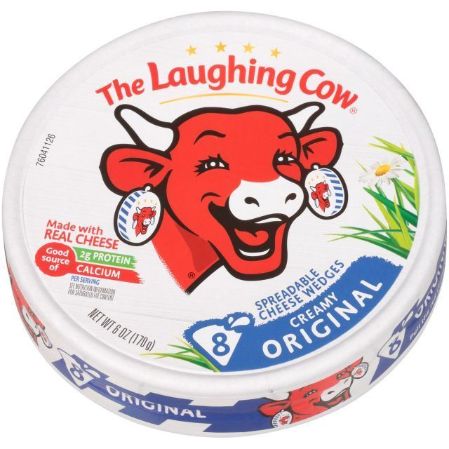 Cheese Spread Laughing Cow Creamy 8pcs