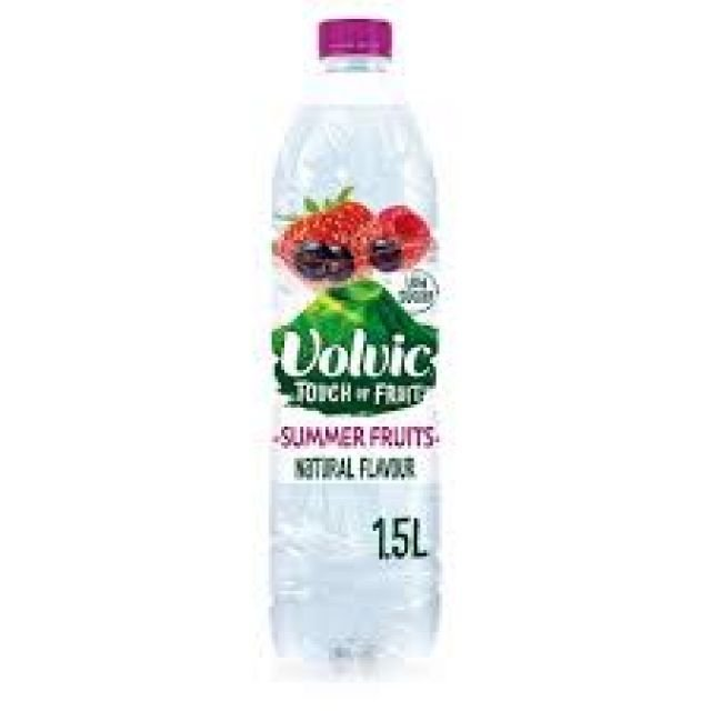 Water Volvic Summer fruit 1.5L