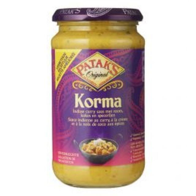 Pataks Korma Curry Sauce 450g