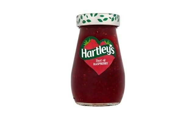 Jam Hartleys Raspberry 340g