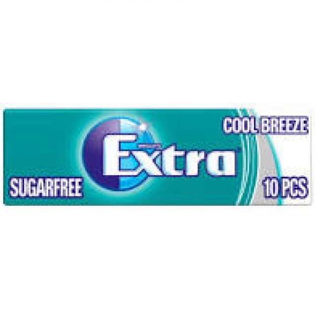 Chewing Gums Extra Cool breeze 10pcs Sugar Free