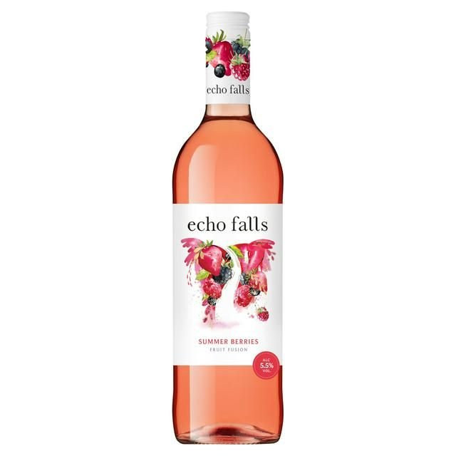 Echo Falls Rose Fruit Fusion 75cl