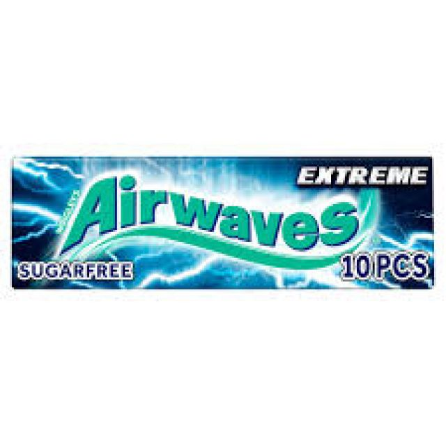 Chewing Gum Airwaves Extreme 10pcs Sugar Free