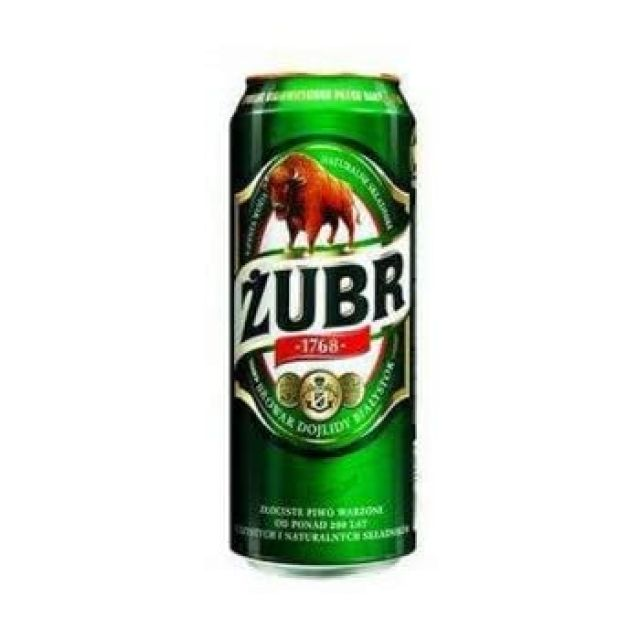 Zubr 500ml Beer Can